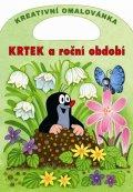 Miler Zdeněk: Krtek a roční období - Kreativní omalovánky A4 s výsekem