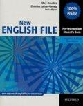Oxenden Clive: New English File Pre-intermediate Student´s Book S Anglicko-českým Slovníčk