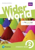Hastings Bob: Wider World 2 Students´ Book with MyEnglishLab Pack