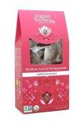 neuveden: English Tea Shop Pyramidové čaje Rooibos acai a granátové jablko, 15 pyrami