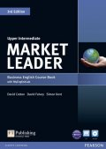 Cotton David: Market Leader 3rd Edition Upper Intermediate Coursebook w/ DVD-ROM/ MyEngli