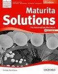 Falla Tim, Davies Paul A.: Maturita Solutions Pre-Intermediate Workbook 2nd (CZEch Edition)