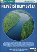 neuveden: Největší řeky světa - Naučná karta