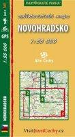 neuveden: Novohradsko - cykloturistická mapa č. 3 /1:55 000