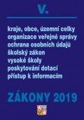 neuveden: Zákony V/2019 – úplné znění – organizace veřejné správy, ochrana osobních ú