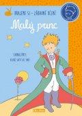 neuveden: Malý princ - kniha aktivit - oranžové samolepky