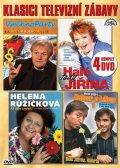 Various: Klasici televizní zábavy - 4 DVD