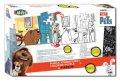 neuveden: Vybarvovací puzzle - Tajný život mazlíčků