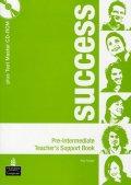 Fricker Rod: Success Pre-Intermediate Teacher´s Book Pack