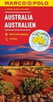 neuveden: Austrálie 1:4M/mapa(ZoomSystem)MD