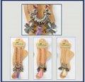 neuveden: Náramek na nohu s barevnými korálky