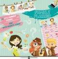 neuveden: Kalendář poznámkový plánovací - Boys & Girls - nedatovaný, 30 x 60 cm
