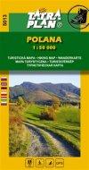 : Poľana - Turistická mapa 1:50 000