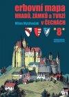 Milan Mysliveček: Erbovní mapa hradů, zámků a tvrzí v Čechách 8