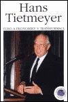 Hans Tietmeyer: Euro a ekonomiky v transformaci